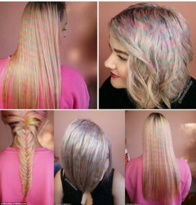 Tendencias en Coloración: Palm Painting, Conffeti Hair, Foilyage, Unicorn Hair